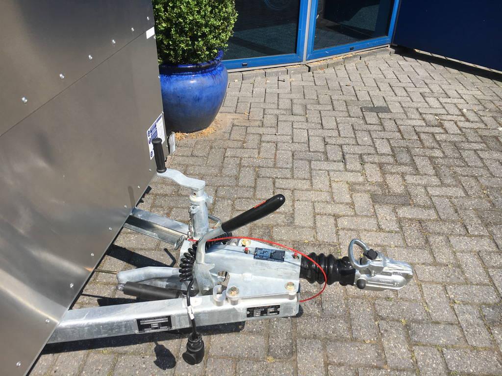 Ifor Williams veetrailer 244x121x153cm Aanhangwagens Zuid-Holland nw dissel