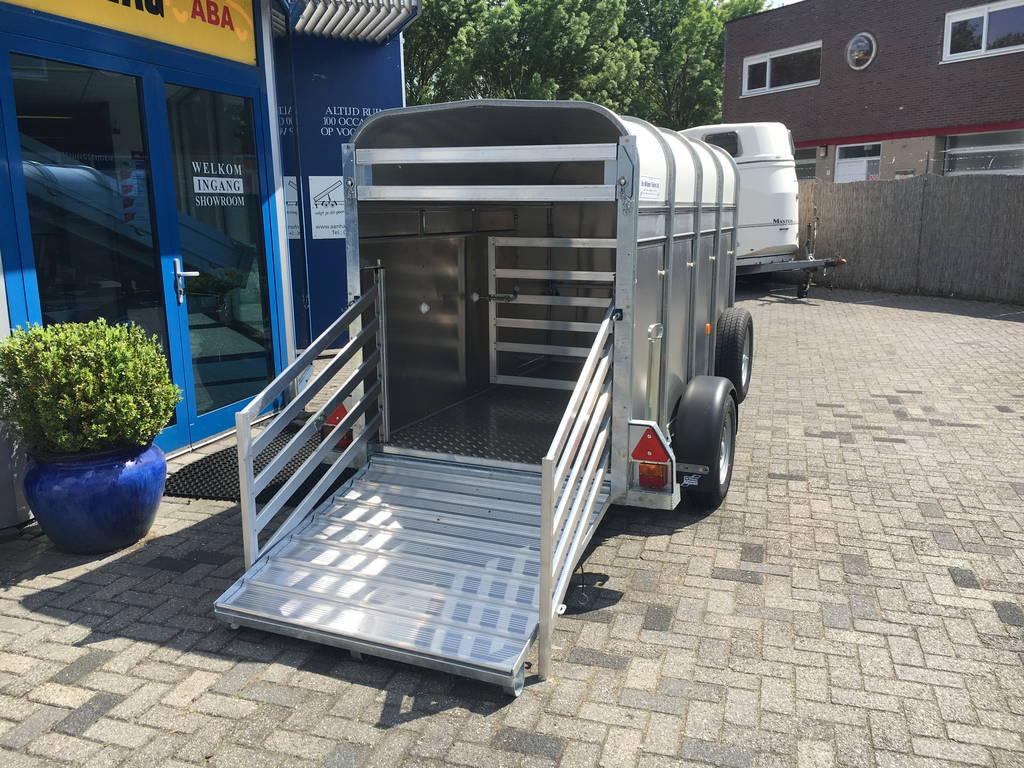 Ifor Williams veetrailer 244x121x153cm Aanhangwagens Zuid-Holland nw oploopklep