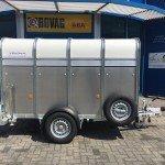 Ifor Williams veetrailer 244x121x153cm Aanhangwagens Zuid-Holland nw zijkant