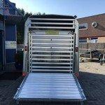 Ifor Williams veetrailer 304x156x183cm Aanhangwagens Zuid-Holland achterkant dicht rek 2.0