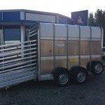 Ifor Williams veetrailer 304x156x183cm Aanhangwagens Zuid-Holland zijkant open 2.0