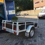 Loady enkelas 200x130cm Aanhangwagens Zuid-Holland 2.0 achterkant