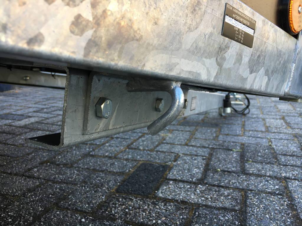 Loady enkelas 200x130cm Aanhangwagens Zuid-Holland 2.0 touwhaken
