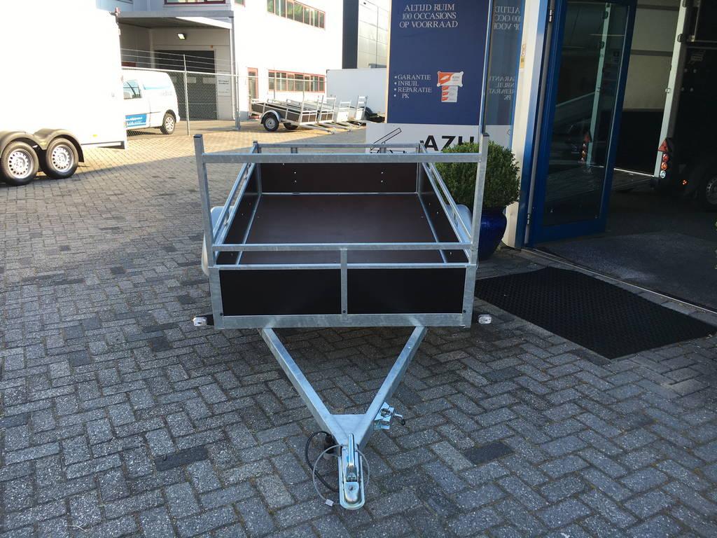 Loady enkelas 200x130cm Aanhangwagens Zuid-Holland 2.0 voorkant