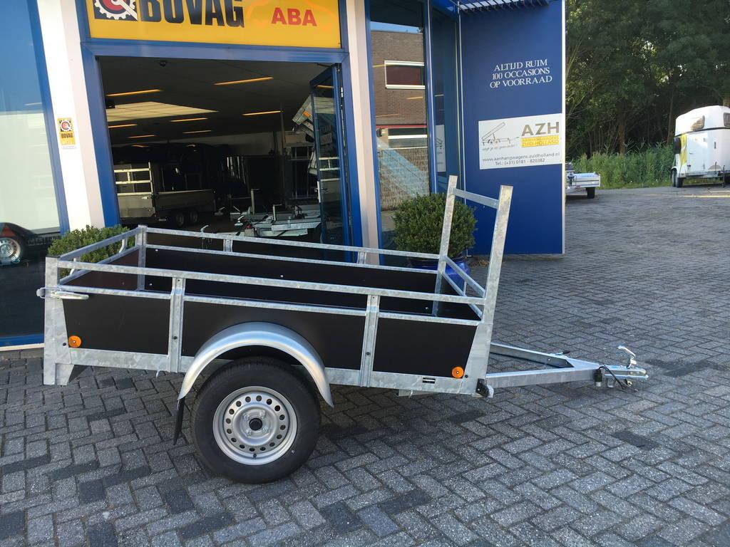 Loady enkelas 200x130cm Aanhangwagens Zuid-Holland 2.0 zijkant
