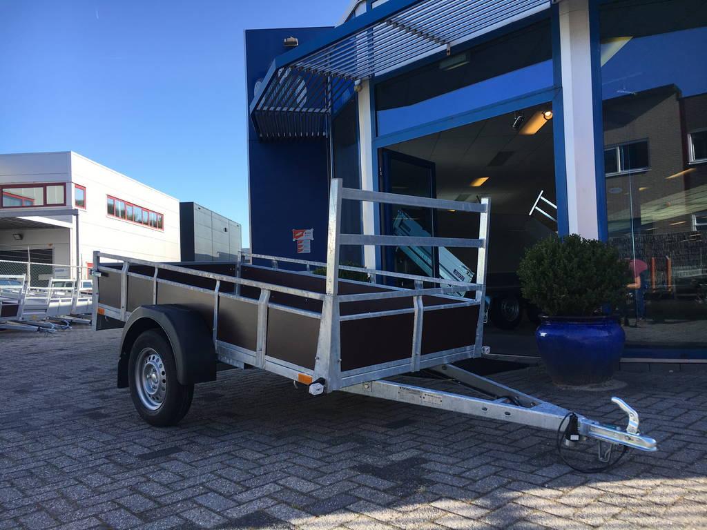 Loady enkelas 250x130cm bakwagens enkelas Aanhangwagens Zuid-Holland overzicht 2.0