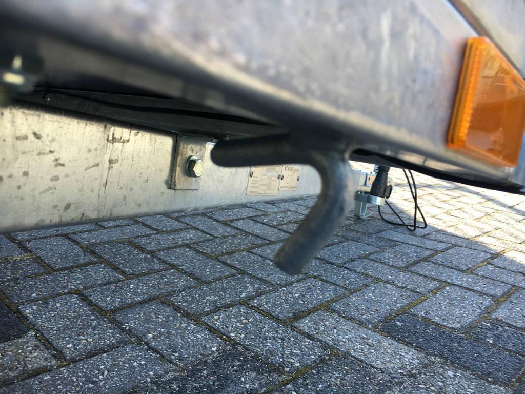 Loady enkelas 250x130cm bakwagens enkelas Aanhangwagens Zuid-Holland touwhaken 2.0