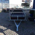 Loady enkelas 250x130cm bakwagens enkelas Aanhangwagens Zuid-Holland voorkant 2.0