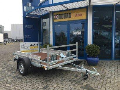 Loady motortrailer 257x157cm Aanhangwagens Zuid-Holland nw hoofd