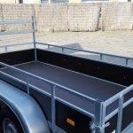 Loady tandemas 250x130cm 750kg Aanhangwagens Zuid-Holland bak