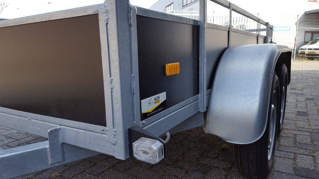 Loady tandemas 250x130cm 750kg Aanhangwagens Zuid-Holland close-up