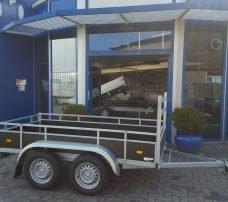 Loady tandemas 250x130cm 750kg Aanhangwagens Zuid-Holland hoofd
