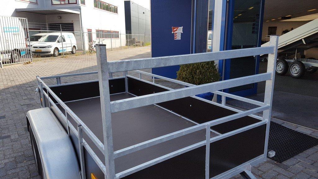 Loady tandemas 250x130cm 750kg Aanhangwagens Zuid-Holland koprek