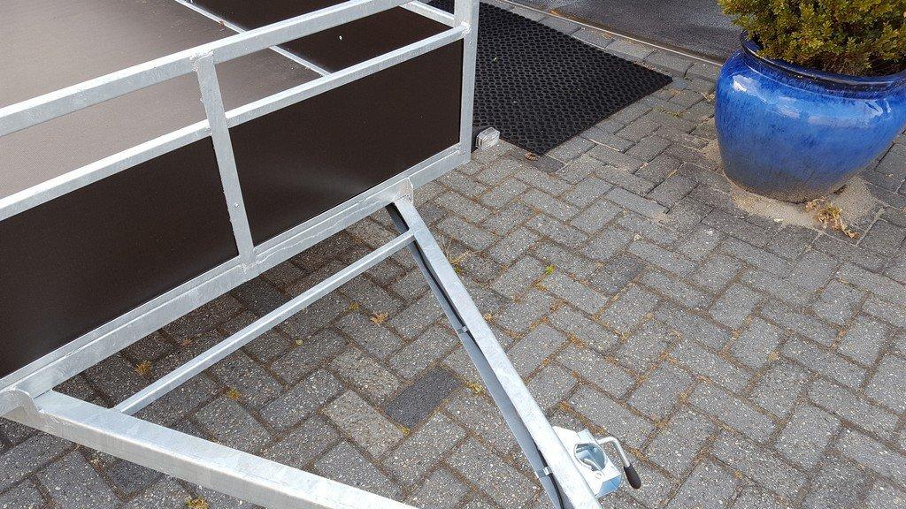 Loady tandemas 250x130cm 750kg Aanhangwagens Zuid-Holland voorkant