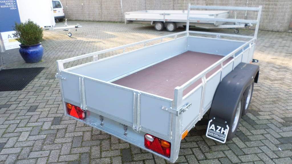 Loady tandemas 307x131cm bakwagens tandemas Aanhangwagens Zuid-Holland bak
