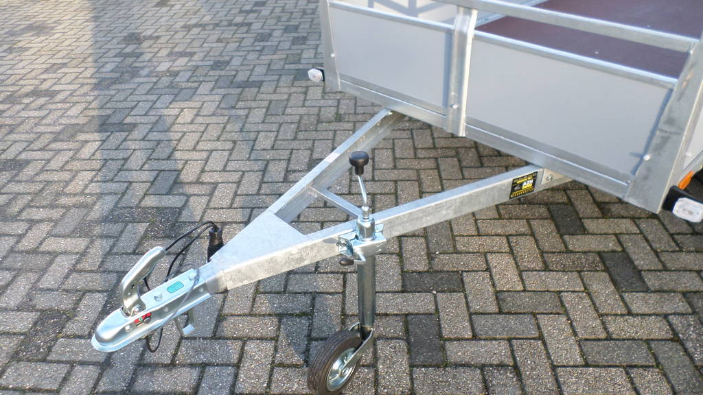 Loady tandemas 307x131cm bakwagens tandemas Aanhangwagens Zuid-Holland dissel