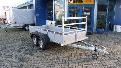 Loady tandemas 307x131cm bakwagens tandemas Aanhangwagens Zuid-Holland hoofd