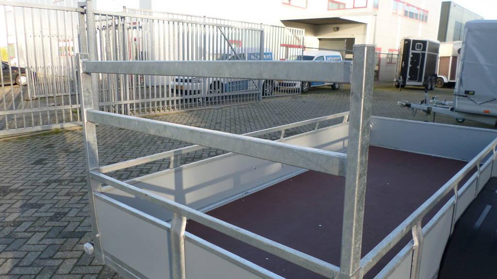 Loady tandemas 307x131cm bakwagens tandemas Aanhangwagens Zuid-Holland koprek