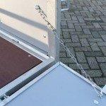 Loady tandemas 307x131cm bakwagens tandemas Aanhangwagens Zuid-Holland open