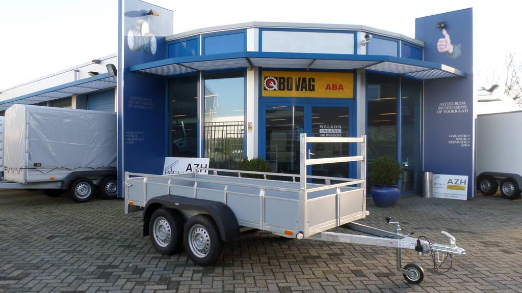 Loady tandemas 307x131cm bakwagens tandemas Aanhangwagens Zuid-Holland overzicht