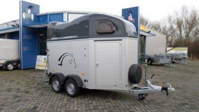 Montana alu 2 paards trailer paardentrailers Aanhangwagens Zuid-Holland hoofd