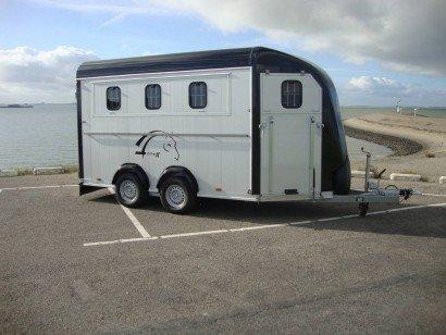 Montana alu 4 paards trailer Aanhangwagens Zuid-Holland hoofd
