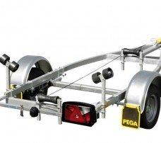 Pega boottrailer 400x160cm boottrailers Aanhangwagens Zuid-Holland hoofd