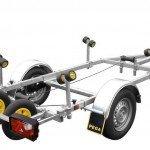 Pega boottrailer 450x170cm boottrailers Aanhangwagens Zuid-Holland hoofd