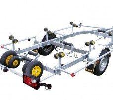 Pega boottrailer 550x190cm boottrailers Aanhangwagens Zuid-Holland hoofd