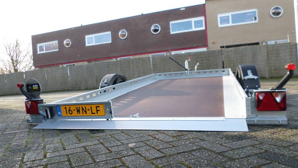 Proline autotransporter 375x180cm autotransporters Aanhangwagens Zuid-Holland oprijden