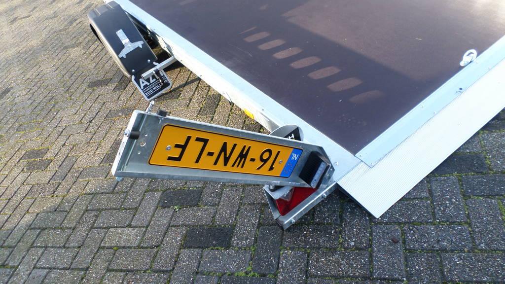 Proline autotransporter 375x180cm autotransporters Aanhangwagens Zuid-Holland verstelbaar