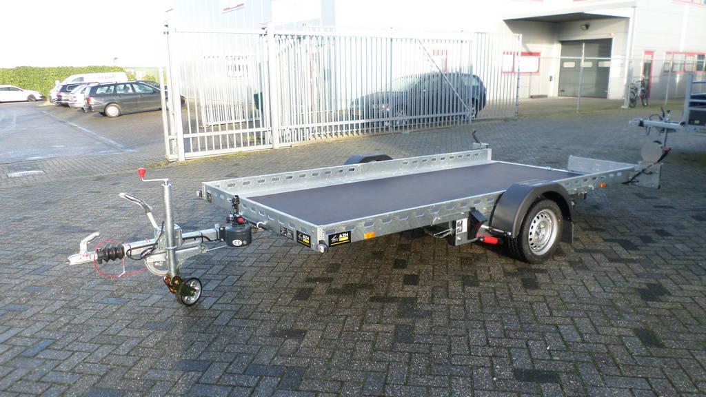 Proline autotransporter 375x180cm autotransporters Aanhangwagens Zuid-Holland zijkant