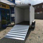 Proline bloemenwagen 304x151x200cm Aanhangwagens Zuid-Holland achterkant open