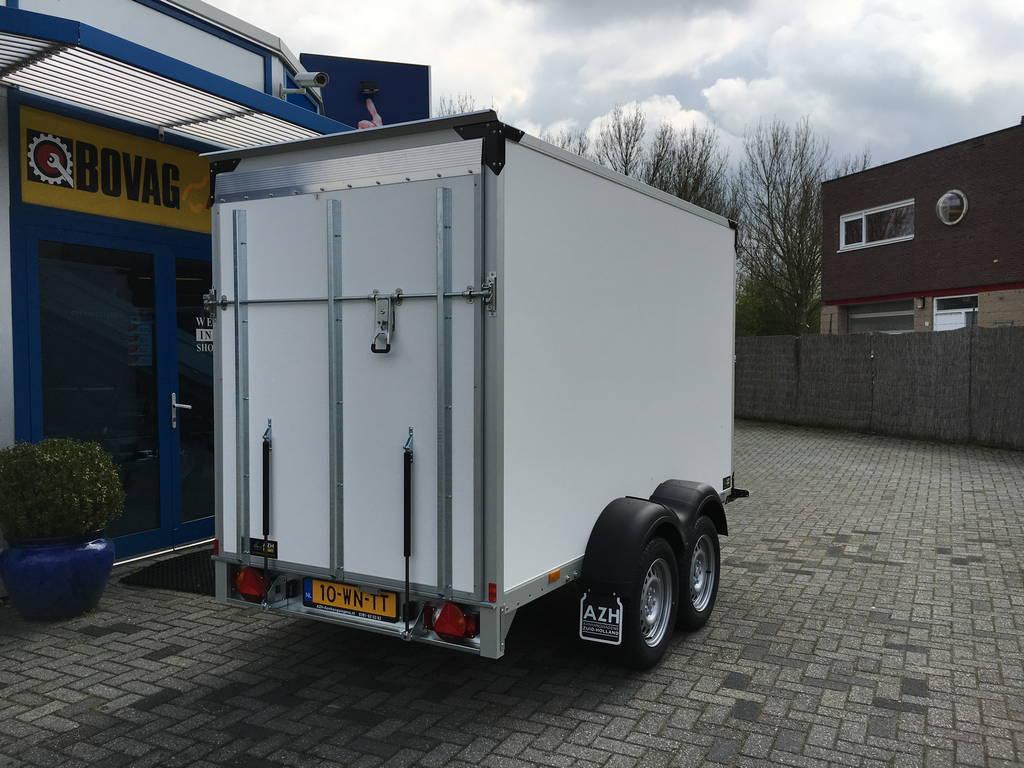 Proline bloemenwagen 304x151x200cm Aanhangwagens Zuid-Holland achterkant