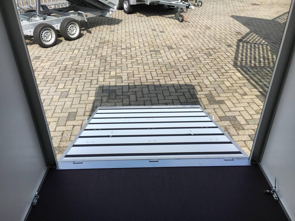 Proline bloemenwagen 304x151x200cm Aanhangwagens Zuid-Holland binnenkant klep