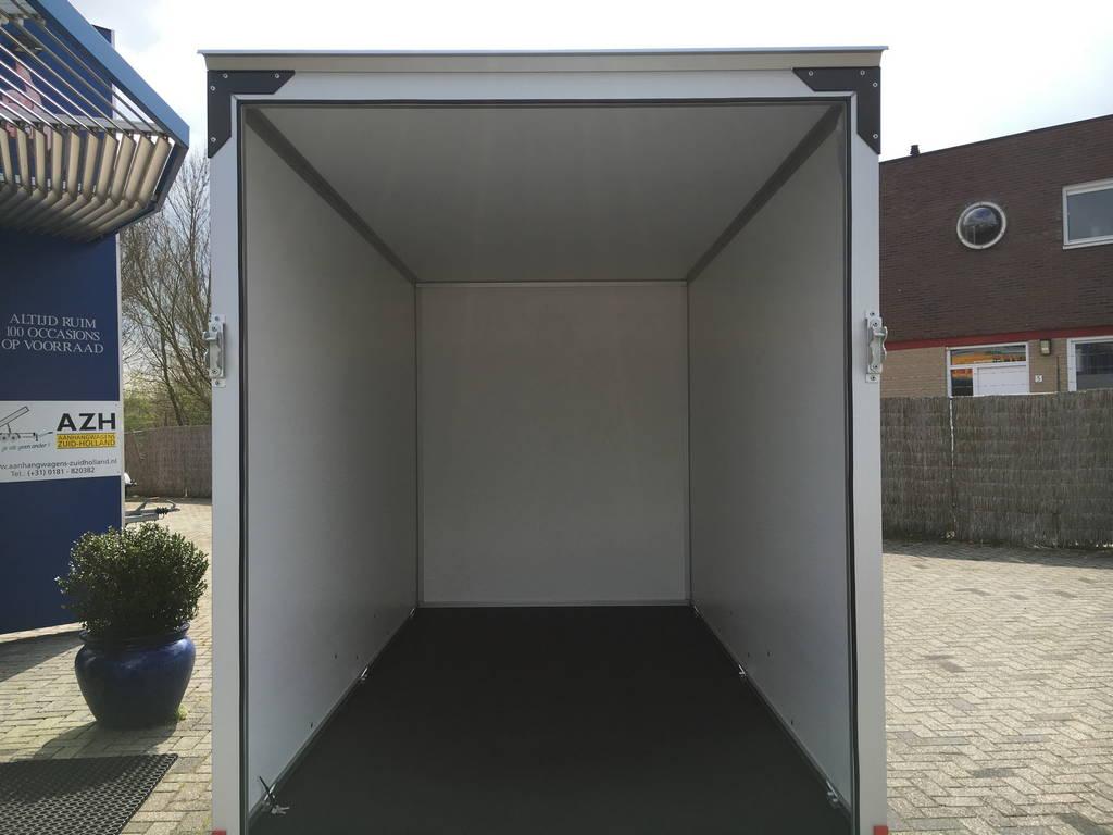 Proline bloemenwagen 304x151x200cm Aanhangwagens Zuid-Holland binnenkant