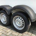 Proline bloemenwagen 304x151x200cm Aanhangwagens Zuid-Holland dubbele as