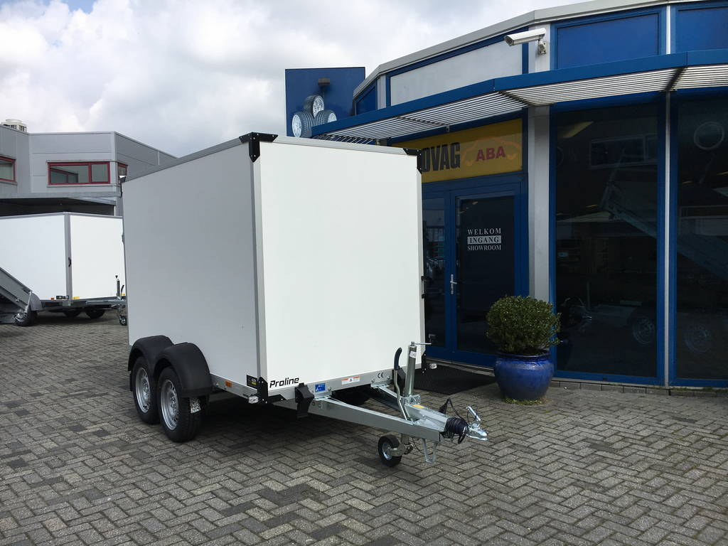Proline bloemenwagen 304x151x200cm Aanhangwagens Zuid-Holland voorkant