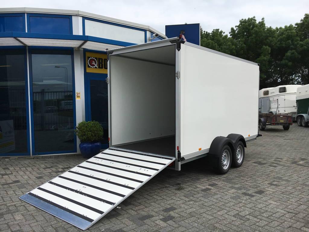 Proline bloemenwagen 407x181x200cm Aanhangwagens Zuid-Holland 2.0 achter open