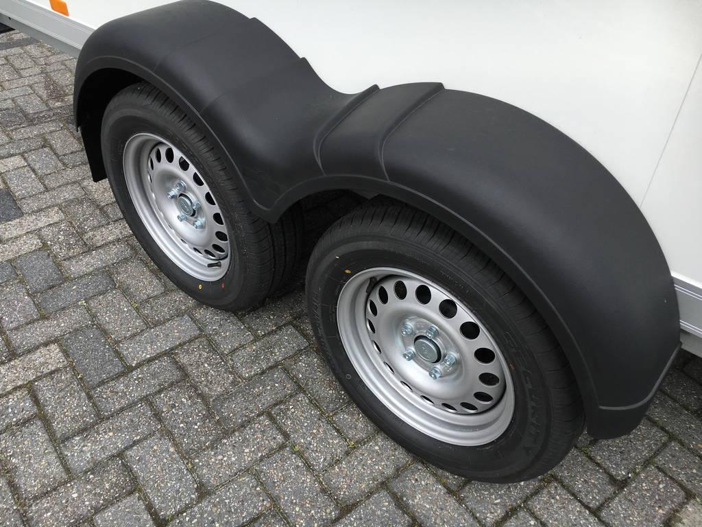 Proline bloemenwagen 407x181x200cm Aanhangwagens Zuid-Holland 2.0 banden