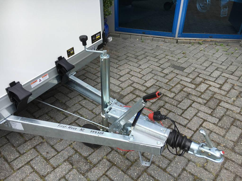 Proline bloemenwagen 407x181x200cm Aanhangwagens Zuid-Holland 2.0 dissel