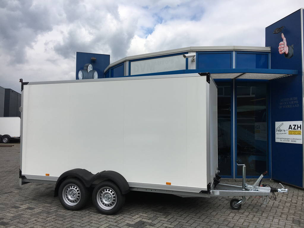 Proline bloemenwagen 407x181x200cm Aanhangwagens Zuid-Holland 2.0 hoofd