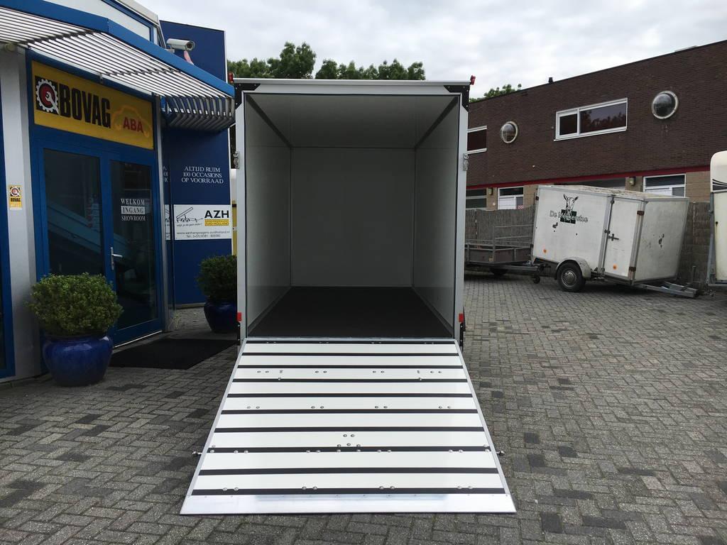 Proline bloemenwagen 407x181x200cm Aanhangwagens Zuid-Holland 2.0 oploopklep