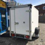 Proline gesloten 251x132x152cm 1300kg Aanhangwagens Zuid-Holland nw achter dicht