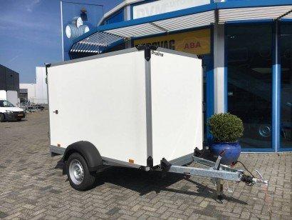 Proline gesloten 251x132x152cm 1300kg Aanhangwagens Zuid-Holland nw hoofd