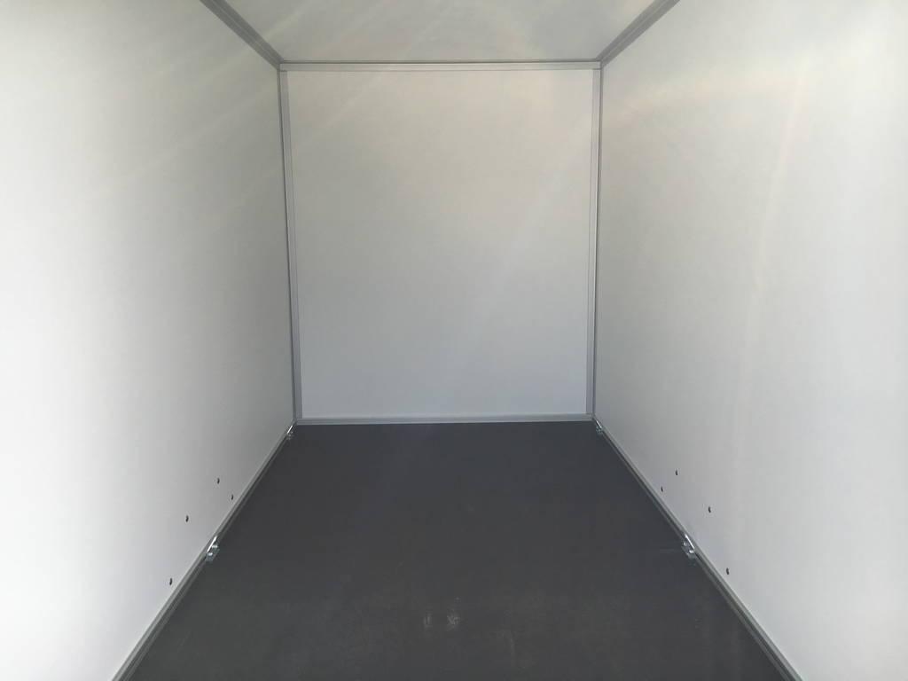 Proline gesloten 251x132x152cm 1300kg Aanhangwagens Zuid-Holland nw laadruimte