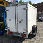 Proline koelaanhanger 250x130x150cm 1300kg Aanhangwagens Zuid-Holland nw achter dicht