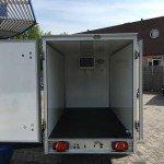 Proline koelaanhanger 250x130x150cm 1300kg Aanhangwagens Zuid-Holland nw achterkant open