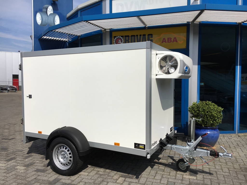 Proline koelaanhanger 250x130x150cm 1300kg Aanhangwagens Zuid-Holland nw overzicht
