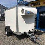 Proline koelaanhanger 250x130x150cm 1300kg Aanhangwagens Zuid-Holland nw voorkant